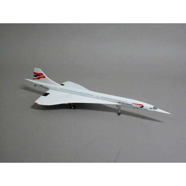 Hogan Concorde British Airways Union Jack Livery G-BOAE 1:200 diecast metal