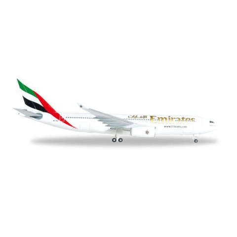 HERPA A330-200 EMIRATES A6-Eas 1:500