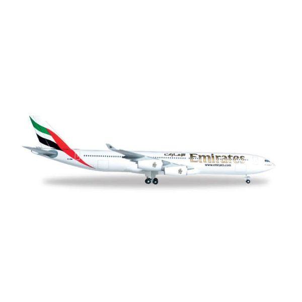 Herpa A340-300 Emirates 1:500+NSI+