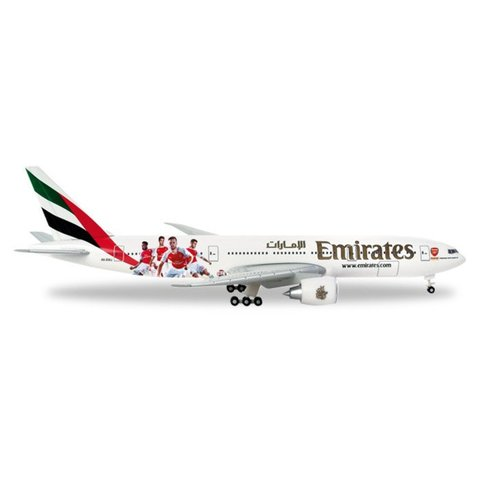 Herpa B777-200LR Emirates Arsenal London 1:500+NSI+