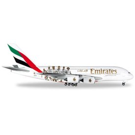 Herpa A380-800 Emirates Real Madrid 1:500+NSI+