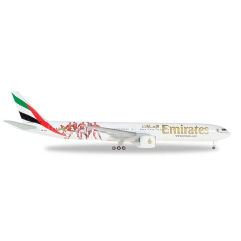 B777-300ER Emirates Benifica Lissabon A6-EPA 1:500+NSI+