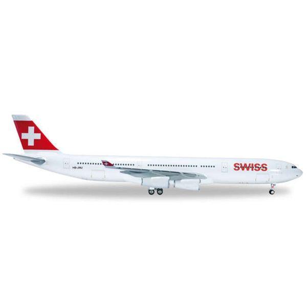 Herpa A340-300 Swiss International 1:200+nsi+
