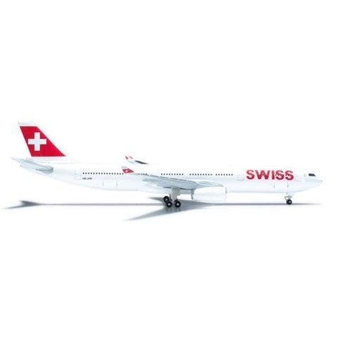 HERPA A330-300 SWISS INTERNATIONAL HB-JHK 1:500+NSI+
