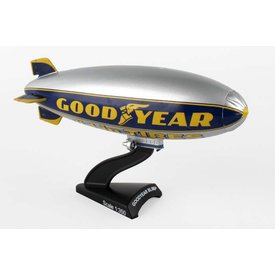 Postage Stamp Models Goodyear Blimp 1:350 with stand