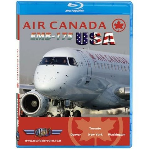 Bluray Air Canada ERJ175 USA