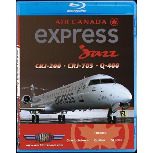 justplanes Bluray Air Canada express jazz CRJ200/700/Q400