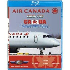 justplanes BluRay Air Canada ERJ190 Winter Ops Toronto Kelowna Ottawa Saskatoon