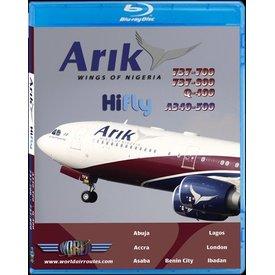 justplanes JUSTP BLU ARIK AIR B737-700/800,Q400,A340-500,