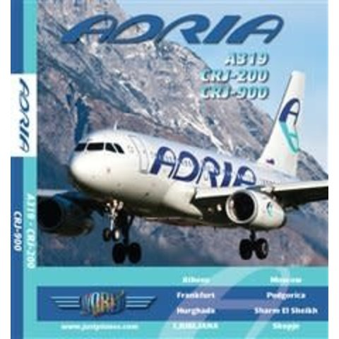JUSTP BLU ADRIA A319,CRJ200,CRJ900