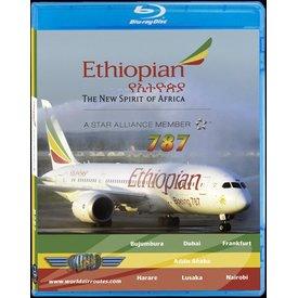 justplanes BluRay Ethiopian Airlines B787-8 Dreamliner Addis Ababa Bujumbura Dubai Frankfurt