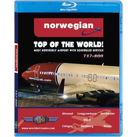 JUSTP BLU NORWEGIAN B737-800W TOP OF THE WORLD