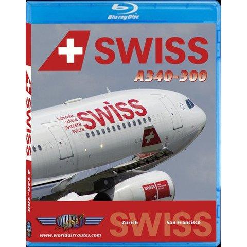 BluRay Swiss International A340-300 San Francisco SFO