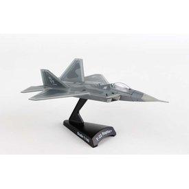 Postage Stamp Models F22 Raptor USAF FF 1FW 1:145 with stand