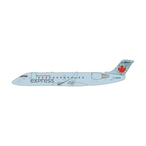 CRJ200 Air Canada express Air Georgian 2004 Blue livery C-GKFR 1:400