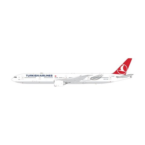 B777-300ER Turkish Airlines TC-JJT 1:200 with stand