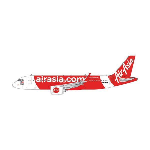 Gemini Jets A320neo Air Asia 9M-AGA 1:400