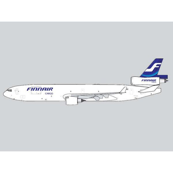 Gemini Jets MD11F FINNAIR CARGO 1:400