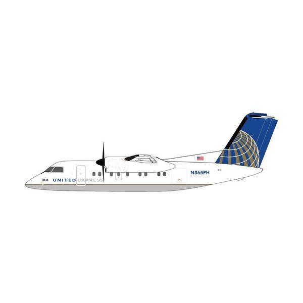 Gemini Jets DASH8-200 United Express NC10 N365PH 1:400