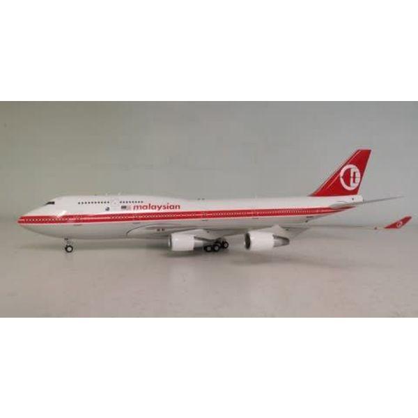 JC Wings B747-400 MALAYSIA RETRO 1:200