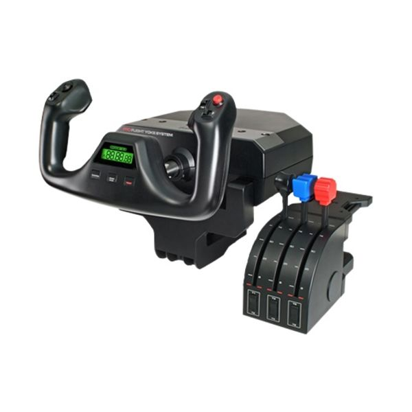 Logitech (Saitek) Pro Flight Yoke & Throttle PZ44