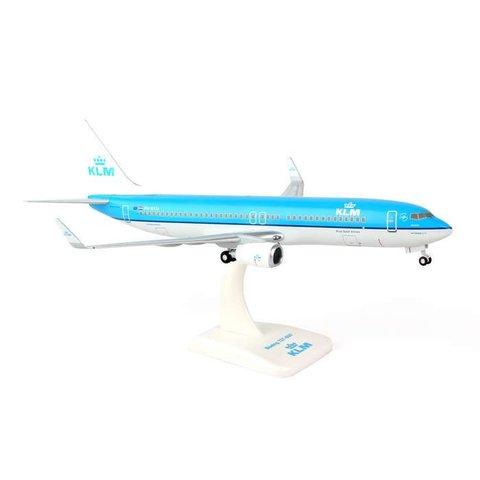 B737-800W KLM PH-BXU 1:200 W/GEAR+STAND