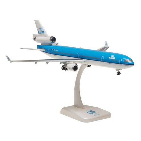 MD11 KLM 95TH Anniversary PH-KCE 1:200 with stand+gear