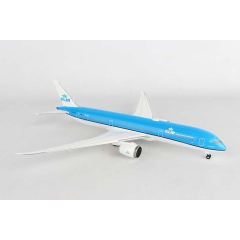 B787-9 KLM New Livery 2014 PH-BHF 1:200 straight Wing With gear (no stand)