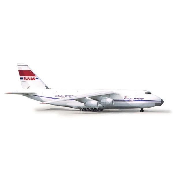 Herpa AN124 Ruslan Air Foyle / Antonov Airlines 1:500