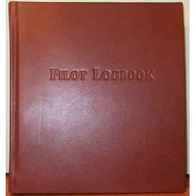 Leather Bound Logbook Antique Brown
