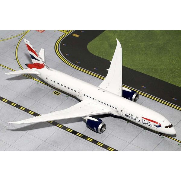 Gemini Jets B787-9 Dreamliner British Airways Union Jack G-ZBKA 1:200 with stand