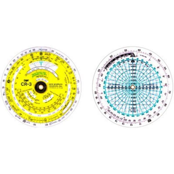 "APR Industries CR3 Time / Speed / Distance Circular Flight Computer 3-3/4"""