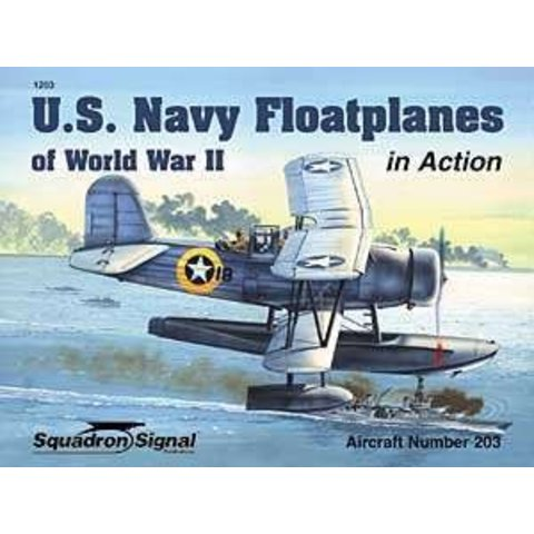 Us Navy Floatplanes:In Action #203 Sc
