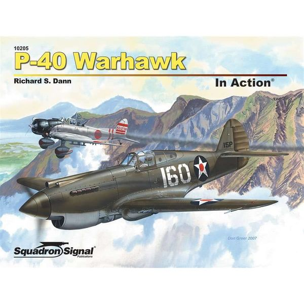 Squadron P40 Warhawk: In Action #205 Softcover