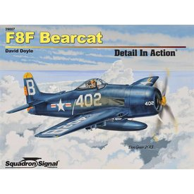 Squadron F8f Bearcat:Detail In Action #7 Sc