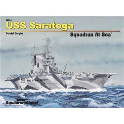 USS Saratoga: Squadron at Sea #4 Softcover
