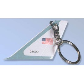 Daron WWT Key Chain Tail Air Force One US Air Force