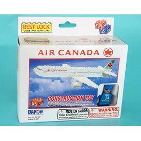 Best-Lock Construction Toys Air Canada 55 Piece Construction Toy 2005 livery (Bestlock)