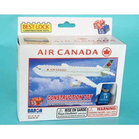 Air Canada 55 Piece Construction Toy 2005 livery (Bestlock)