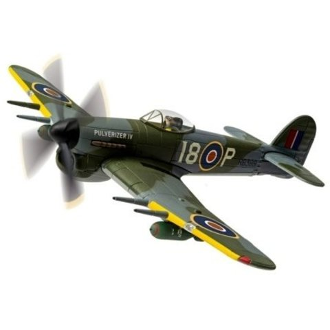 Typhoon IV Pulverizer RCAF 440 Squadron City of Ottawa 1:72 with stand
