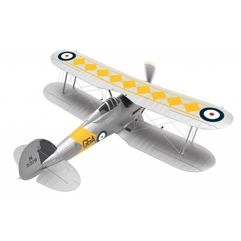 Sea Gladiator 802 SQN HMS Glorious G6A N5519 June 1939 Gloster 1:72 with stand