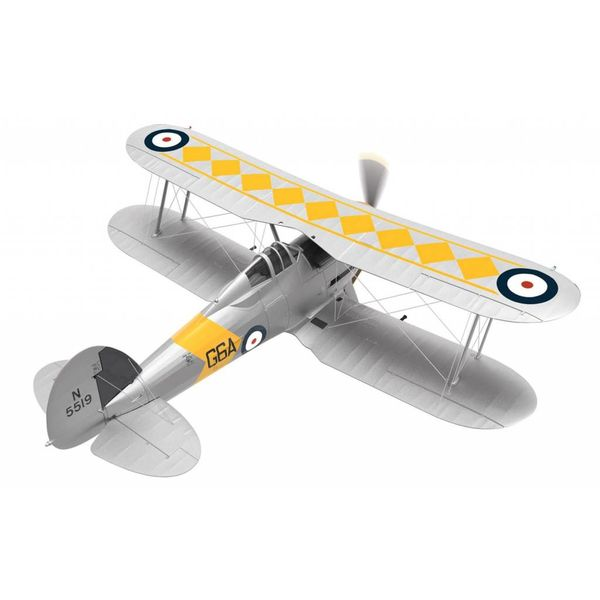 Corgi Sea Gladiator 802 SQN HMS Glorious G6A N5519 June 1939 Gloster 1:72 with stand