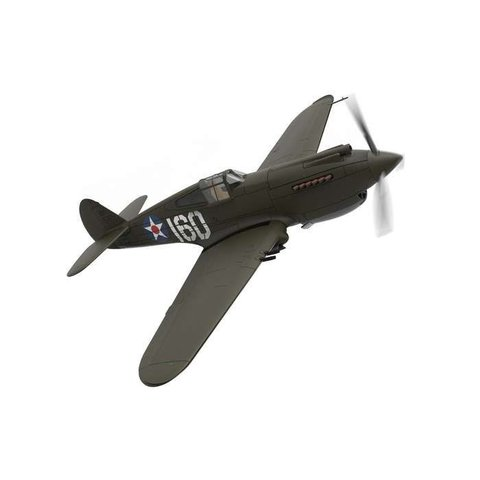 P40B 47PS 2Lt. G. Welch Pearl Harbor 1:72 with stand