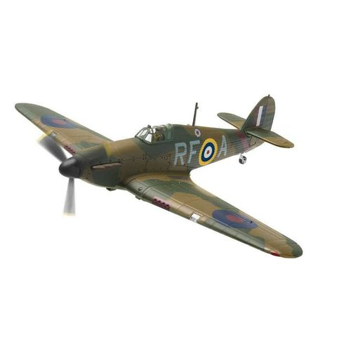 Hurricane MkI Polish Squadron RF-A P3120 1:72 with stand
