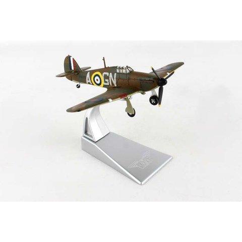 Hurricane MkI 249 Squadron RAF Nicolson VC A-GN 1:72 w/stand