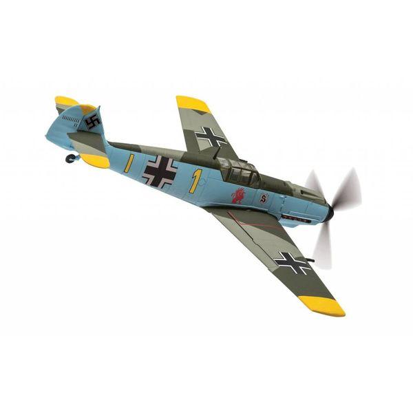 Corgi BF109E4 9/JG26 Oblt.Gerhard Schopfel YELLOW1 Battle of Britain 1940 1:72 with stand