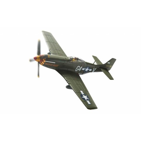 P51D Mustang 362FS USAAF Lt. Julian H. Bertram Butch Baby camo G4-V 1:72 with stand