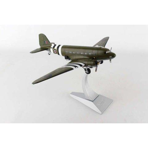 C47 Dakota III RAF Kwicherbichen Battle of Britain Memorial Flight D-Day UK ZA947 1:72