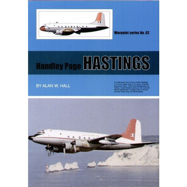 Warpaint Handley Page Hastings: Warpaint #62 softcover +SC+SI*