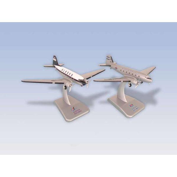 Hogan DC3 Alaska Airlines 1:200 Diecast (2 models)